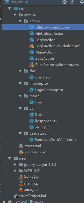 java+Intellij IDEA+struts2+Tomcat+Mysql+easyui小项目- 豌豆ip代理