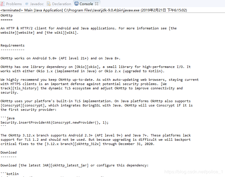 Eclipse 上的okhttp简单运用- 豌豆ip代理
