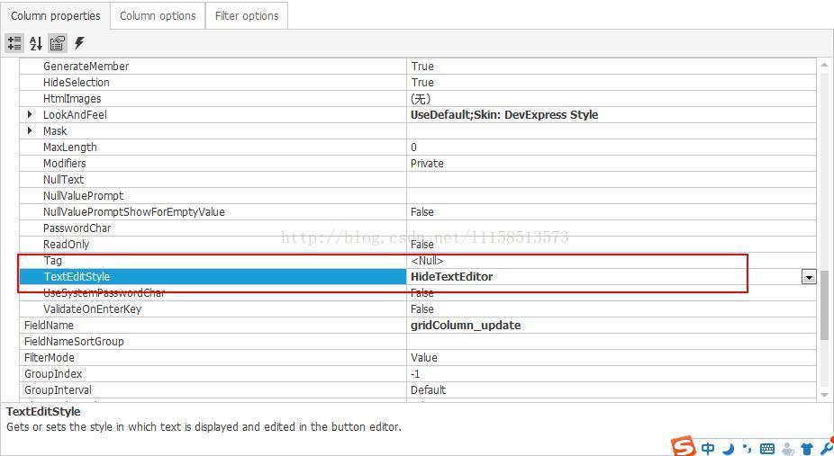 DevExpress GridControl控件行内新增、编辑、删除添加选择框