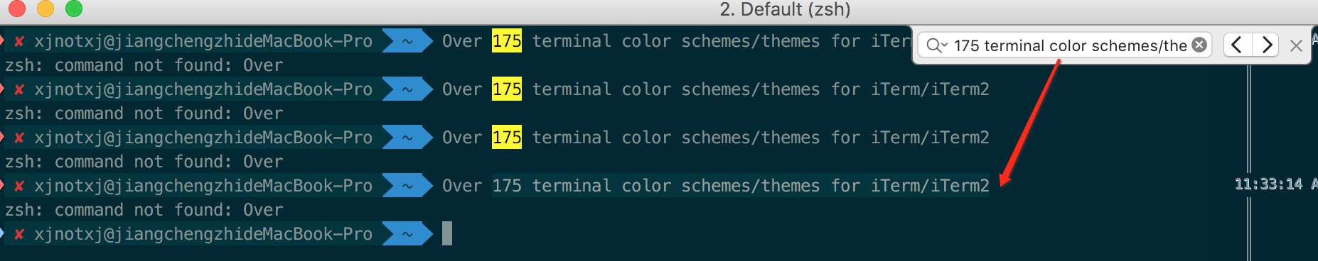 iTerm2 使用笔记- 豌豆ip代理