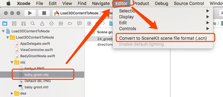SceneKit | 加载3D模型(obj/scn/dae)到你的AR项目中- 豌豆ip代理